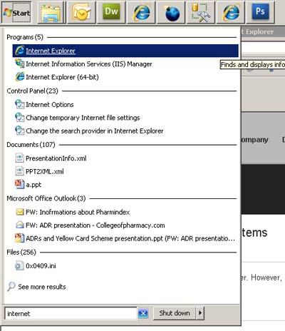 internet explorer 7 flash player